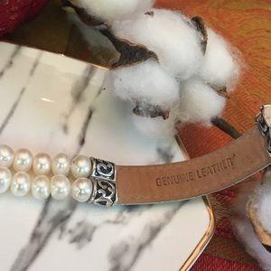 Honora Jewelry - Honora Freshwater Pearls & Leather Bracelet 🤩